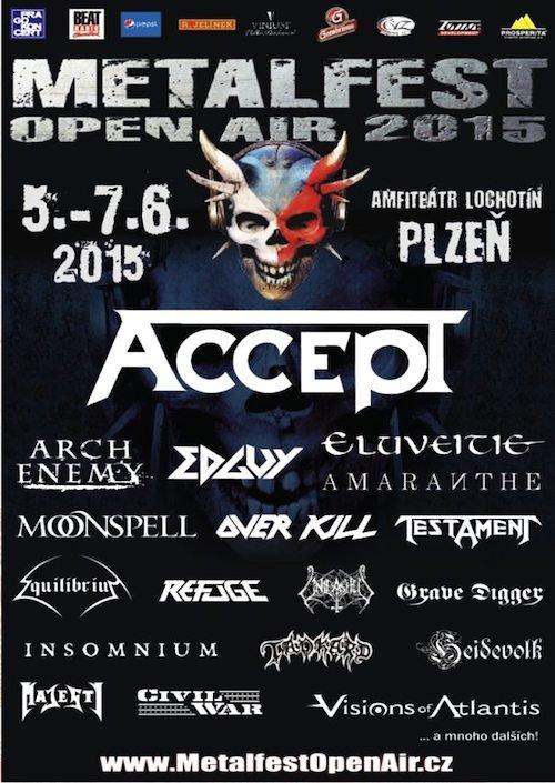 Metal fest Pilzen 2015