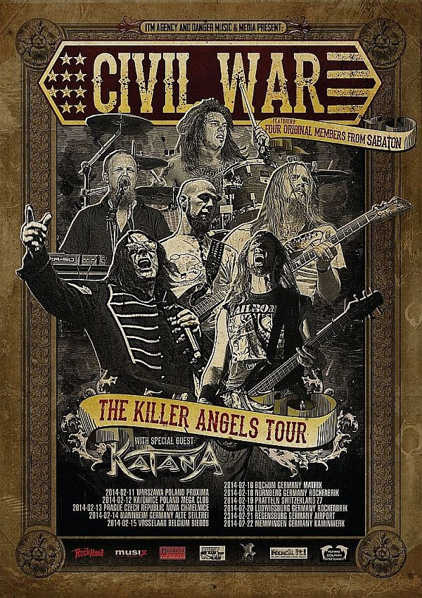 Civil war tour poster 2014
