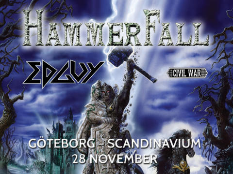 Hammerfall Scandinavium 2015